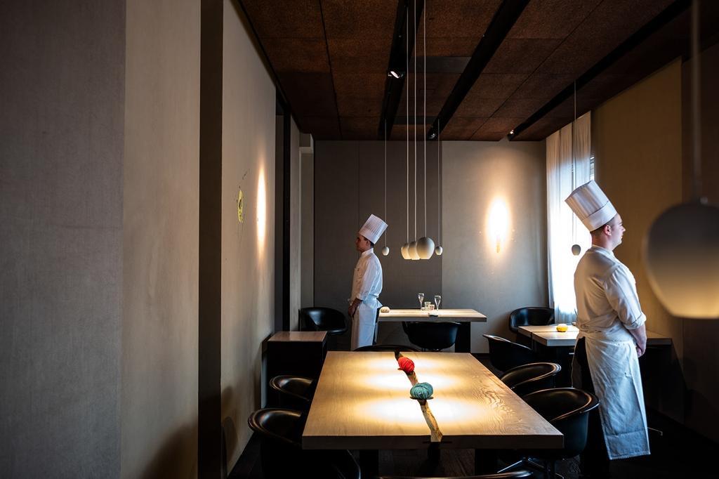 architettura di interni ristorante Le Calandre 6