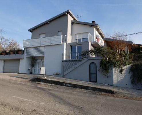 progetto architettura residenziale Castione 2