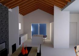 progetto architettura residenziale Via dei Bazachi PC 3