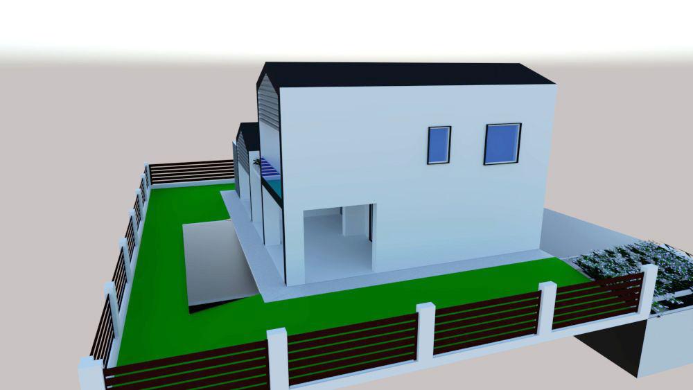 progetto architettura residenziale Via dei Bazachi PC 4
