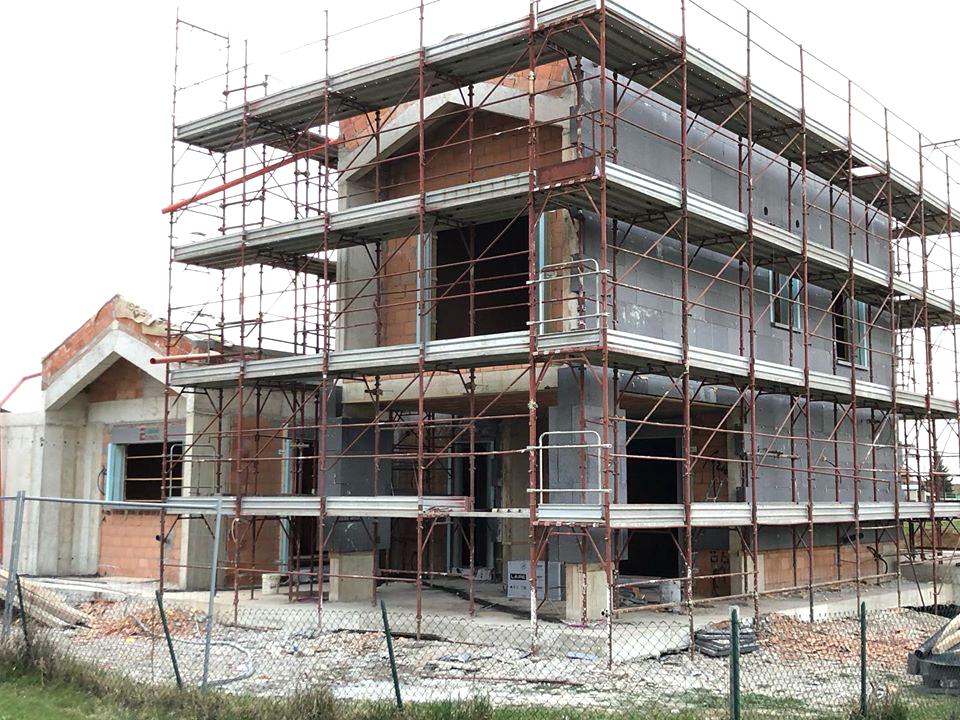 progetto architettura residenziale Via dei Bazachi PC 7