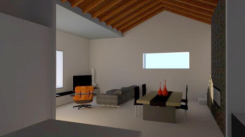 progetto architettura residenziale Via dei Bazachi PC 9
