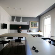 architettura di interni e arredamento appartamento via 4 novembre 1