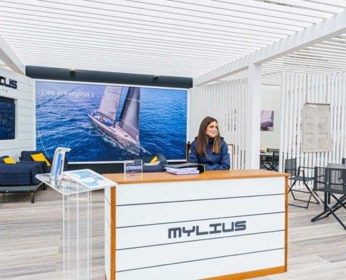 stand Mylius salone nautico genova 2020 04